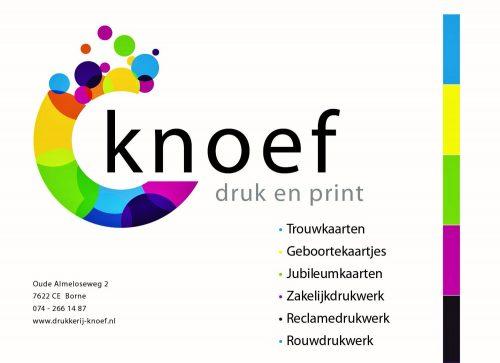 TTV Borne Advertentie Knoef druk en print