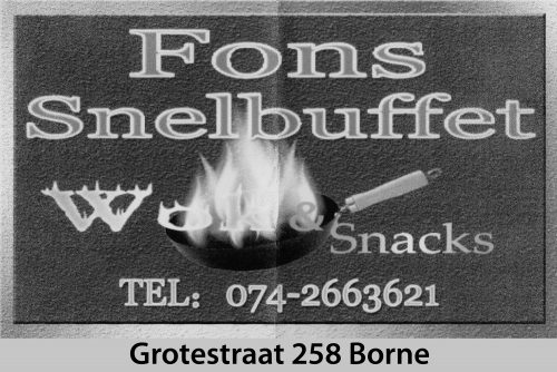 TTV Borne Advertentie Fons Snelbuffet